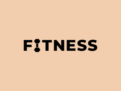 Fitness health workout gym fitness art minimal logodesign icon logo design monogram logo wordmark branding brand symbol mark logotype