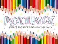 Pencil Pack - Photoshop Brushes