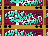 100 Days of Boxcar Graffiti