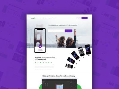 Dynamic Creatives Homepage