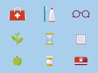 corporate benefits icons
