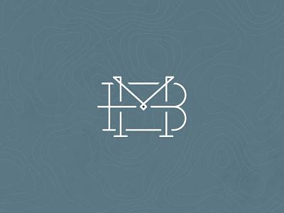 BM Adventure Logo identity serif slab design photo logo m b bm