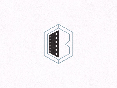 B Films Mark mark logo reel film video films b