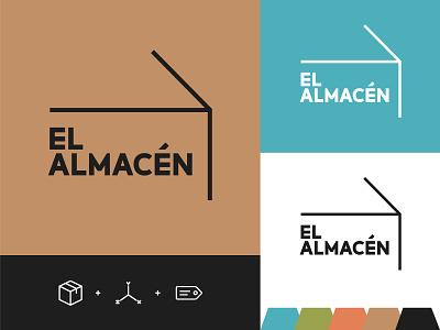 Branding El Almacén logo design branding concept designs logo branding