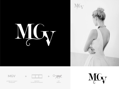Branding and identity of MGV branding and identity logodesigner logo branding agency branding concept