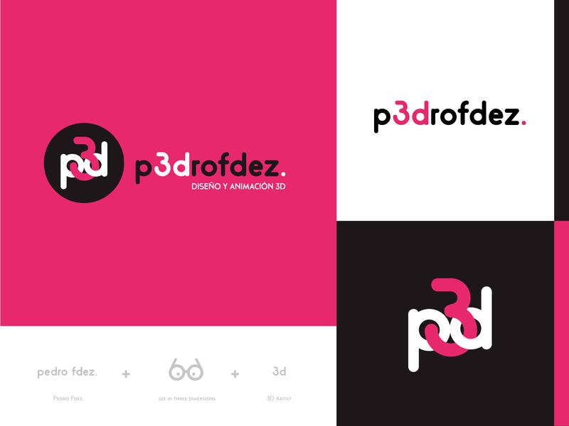 Branding and identity of Pedro Fdez.