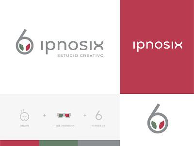 Branding of Ipnosix naming logotype logo logodesigner branding branding and identity branding agency branding concept