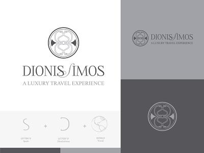 Branding of Dionissimos logo design logo logotype logodesigner branding and identity branding branding agency branding concept