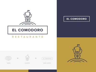 Branding El Comodoro branding logotype naming logodesigner branding and identity branding agency branding concept
