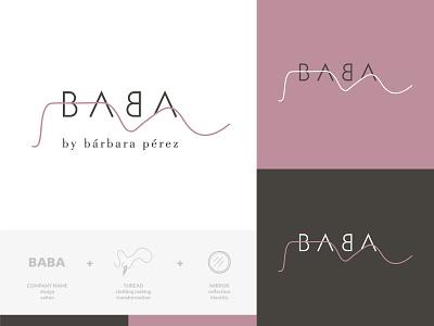 Branding of Baba logotype naming logo branding logodesigner branding agency branding and identity branding concept