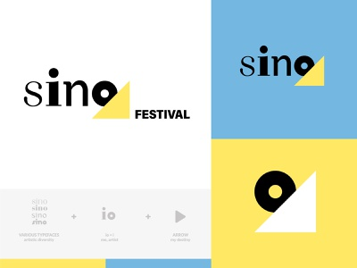 Branding of Sino Festival naming logo branding logodesigner branding agency branding and identity branding concept
