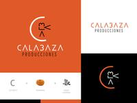 Branding of Calabaza Producciones logo logotype naming logodesigner branding branding agency branding and identity branding concept