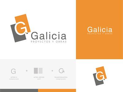 Branding of Galicia Pintores logo logo design logodesigner branding branding agency branding and identity branding concept