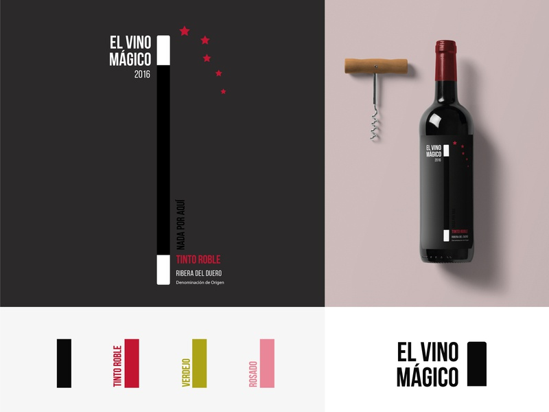 Branding of El Vino Mágico