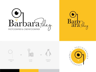 Branding of Bárbara Fdez. logo branding logodesigner logo design logotype branding agency branding and identity branding concept