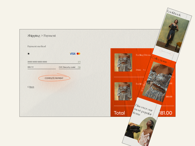 Jewelry e-commerce cart page interaction design interface onlineshop ecommerce accessories silver jewelry cart website ux ui