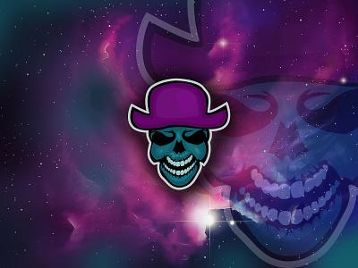 Skull Mascot Logo scythe grim reaper grim spooky reaper dead skull bones death skeleton esport motion graphics 3d branding logo design mascot logo mascot design gaming logo animal logo skull mascot logo