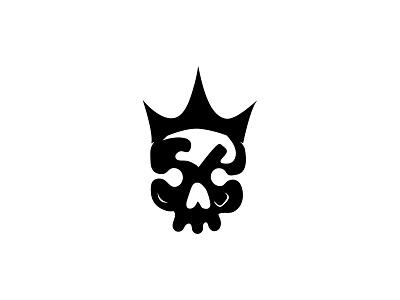 Skull King Logo monogram logo lettermarklogo wordmark logo desing wordmark series lettermark logo wordmark logo motion graphics animation minimal logo professional logo flat logo business logo unique logo creative logo modern logo branding neagtive space logo illustration logo logo design