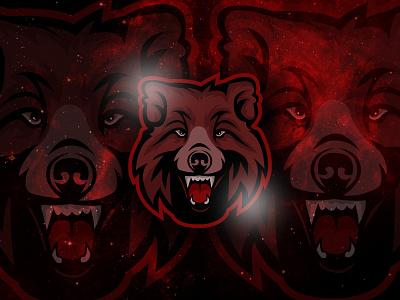 Bear Mascot Logo attack anger mad aggressive an illustration mascot design gaming logo animal logo angr branding 3d esportslogo polar gaming grizzly mascot logo mascotlogo esport bear mascot logo