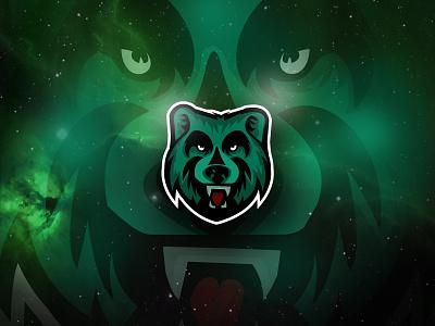 Bear Mascot Logo bear logo esport mascotlogo grizzly sport hockey animal polar bear bear snow white mascot sublogo white bear illustration mascot design mascot logo gaming logo animal logo bear mascot logo