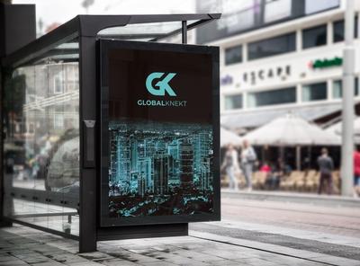 GlobalKnekt Bus Stop Billboard