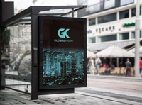 GlobalKnekt Bus Stop Billboard