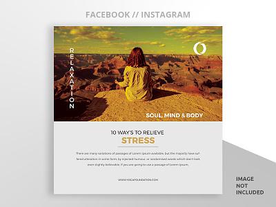 Social Media Post Design eps ai minimal creative