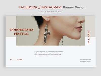 Facebook Cover Photo/Banner Design eps ai minimal creative