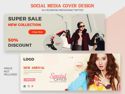 Facebook Cover Photo/Banner Design banner eps ai minimal creative