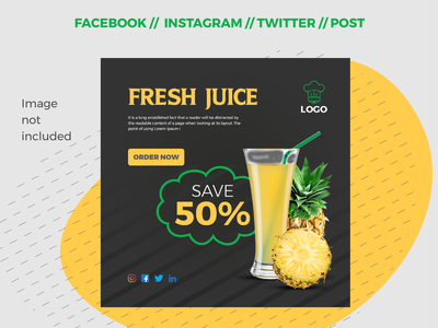 Social Media Post / Banner Design eps online cover creative vector minimal