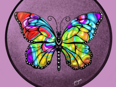 A butterfly 🦋 always reminds me