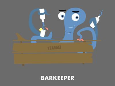 Barkeeper illustration