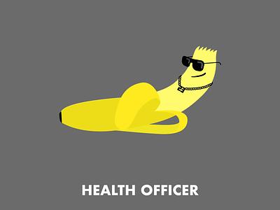 Health Officer character design illustration