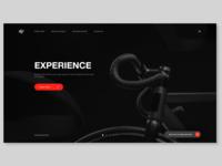 Bike manufacturer landing page