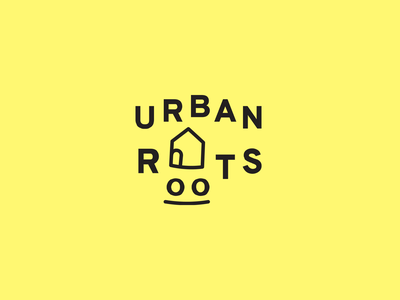Urban Roots Logo blog cities urban logo illustration