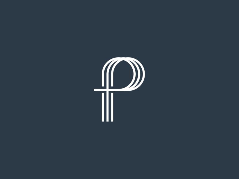 Practice Theology Logo theology practice blackandwhite logo mark design logo