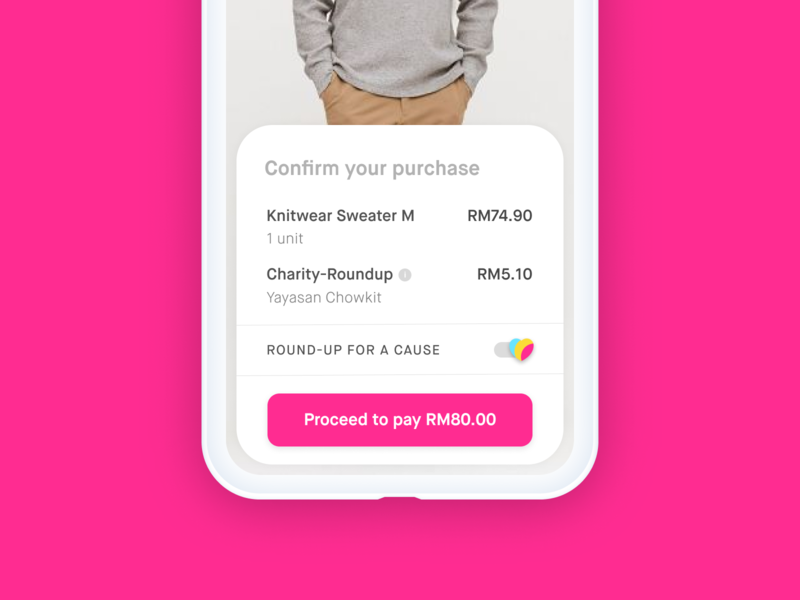 Changes for Causes Feature social charity ecommerce checkout uidesign ui