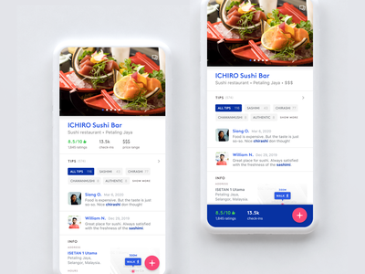 Foursquare App Redesign guide cities city foursquare food mobile app uiux ux ui