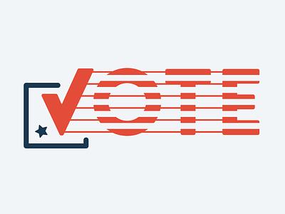 VOTE 2020 usa 2020 vote vector illustration design typography illustrator graphic-design graphic design
