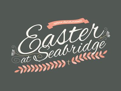Easter Service Flyer