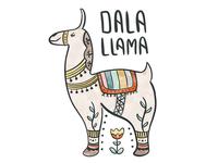 Dala Llama illustration
