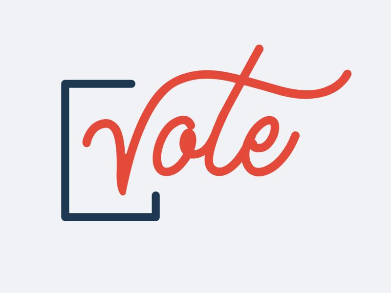 VOTE graphic politics vote