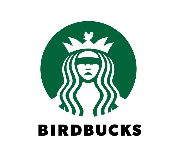 Birdbox Parody: Birducks logo parody logo sandra bullock birdbox parody starbucks