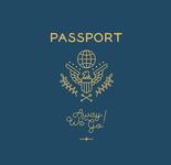 Passport Monoline Design
