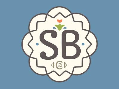Santa Barbara, California illustration design branding illustrator graphic-design graphic design minimalistic spanish tile socal california santa barba