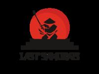 Last Samurais font design samurai logo design logodesign katana style japan design logo illustration procreate