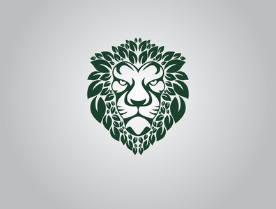 lion logo mark