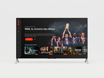 Arte TV - Redesign design graphic design ui