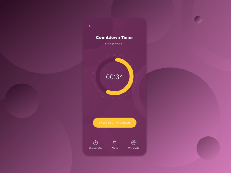 Daily UI #14 - Countdown Timer