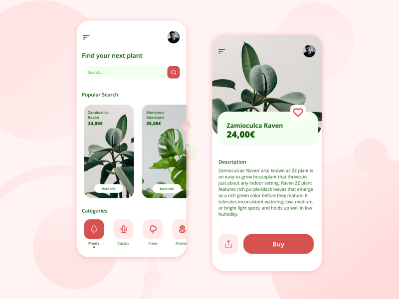 Daily UI #22 - Search ecommerce plant plants dailyui022 dailyui22 mobile ui design ui  ux art direction ux design ui design dailyui